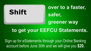 sign up for estatements