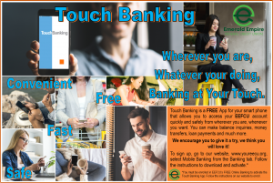 Touch Banking Collage