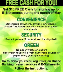 E-Statement benefits