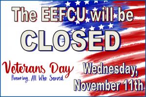 Veterans Day Closure