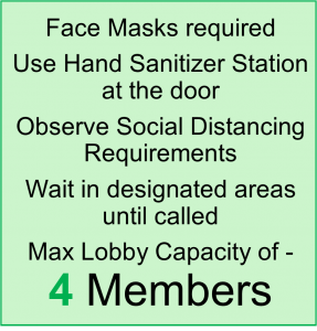 requirements for entering